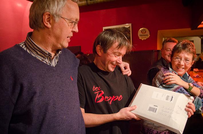 Sigi mit Jos Mehrings (Foto: Peter Duddek)